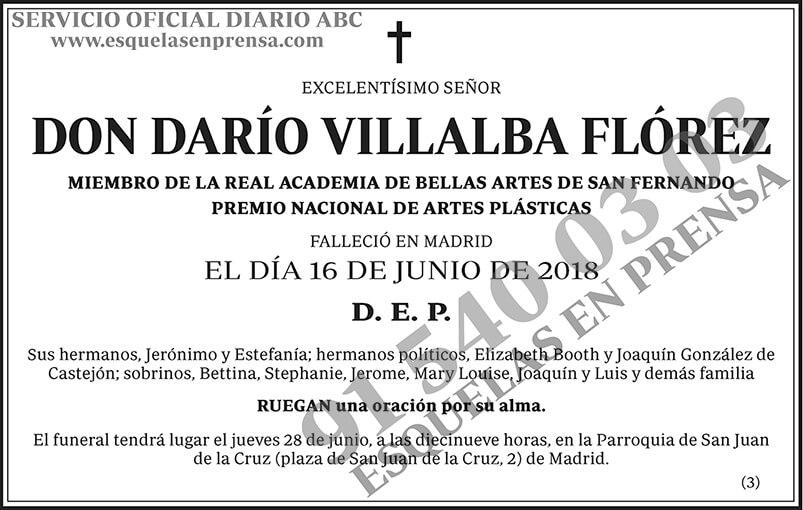 Darío Villalba Flórez